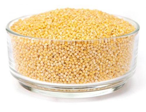 Millet: hulled & flakes